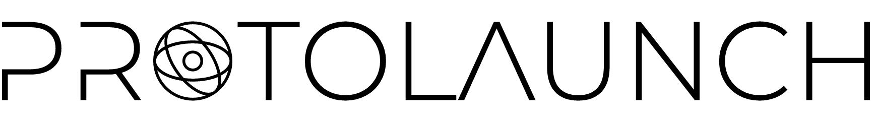 protolaunch Black logo no background